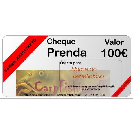 Cheque Prenda 100
