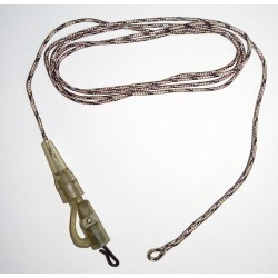Leadcore Leader - Lead Clip with QC Swivel