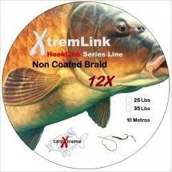 XtremLink - HookLink Non Coated Braid 12X - Linha não Revestida